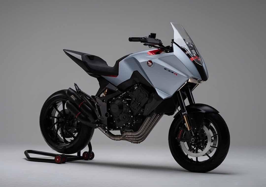 ホンダの新しいコンセプトバイクCB4Xまとめ 10