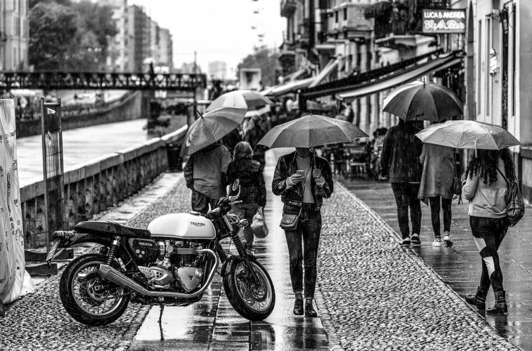 バイクの雨対策でするべきこと 63