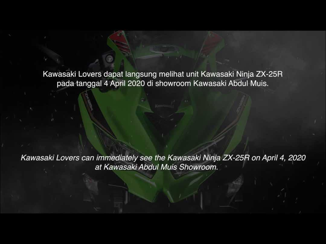 カワサキから4気筒250ニンジャZX-25Rのプレオーダーについての動画が公開 21