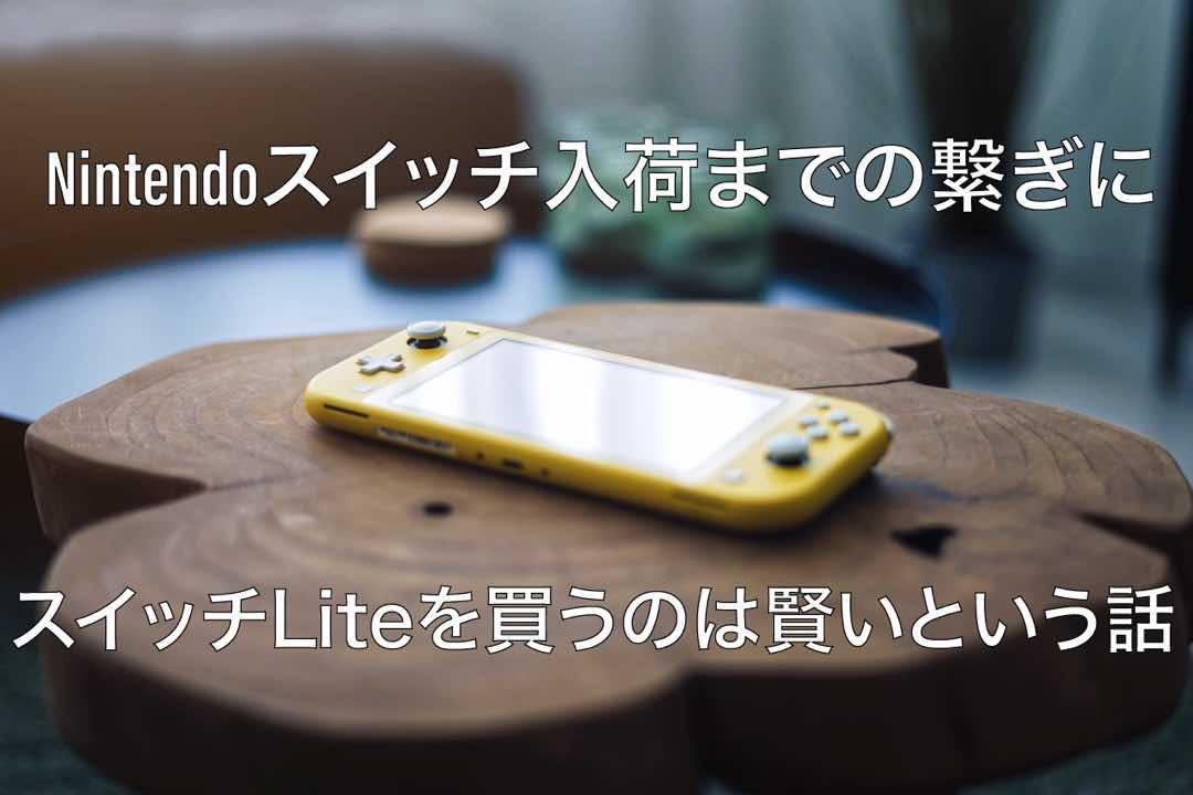 任天堂スイッチ入荷までの繋ぎにスイッチLiteを買うのは賢い話 25