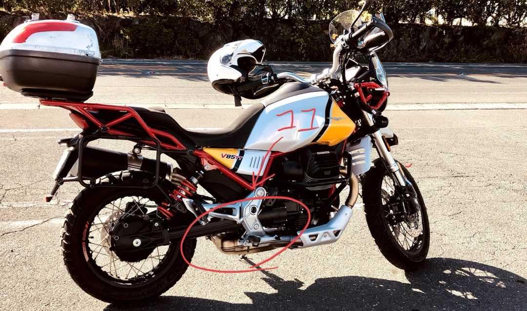 MotoGuzzi V85TTに乗っていてよく聞かれる質問 58