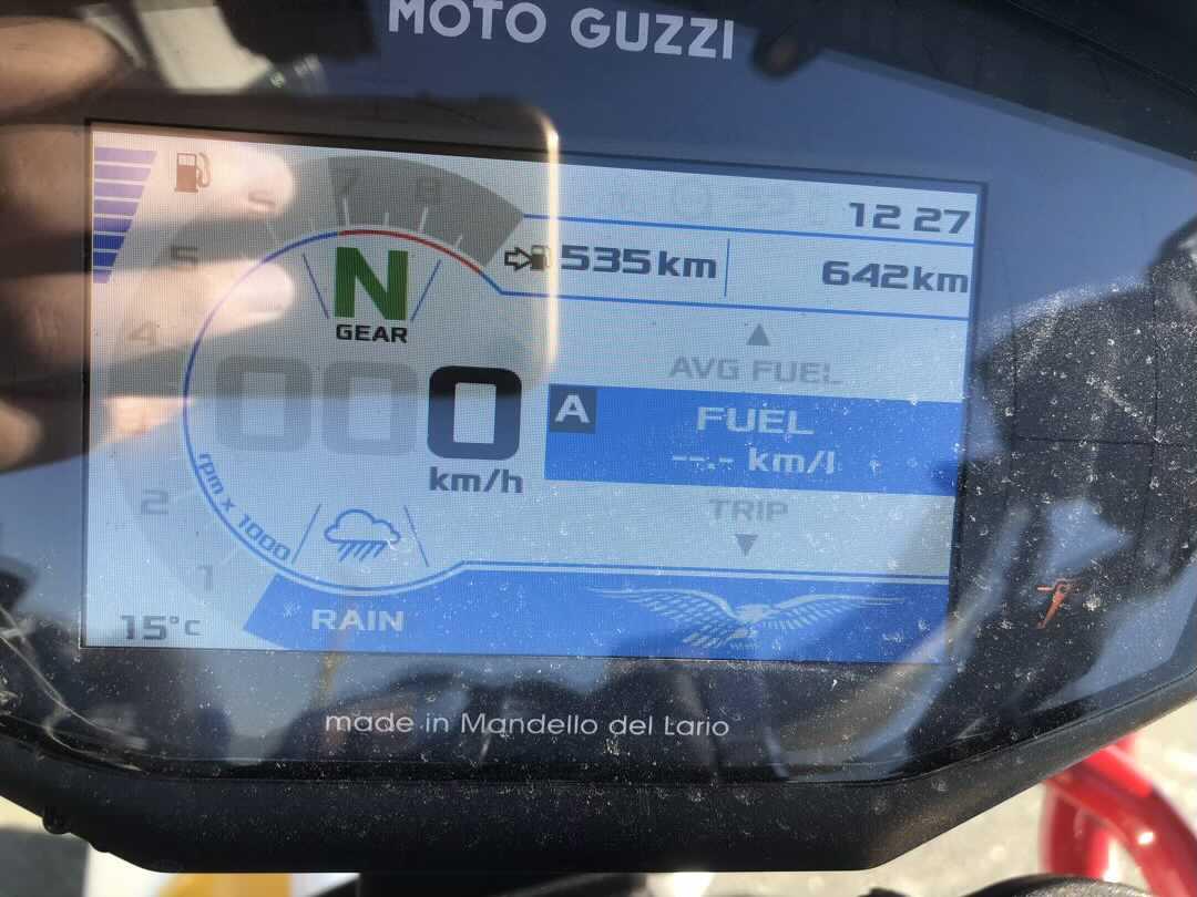 V85TT納車即日1000kmインプレッション 27